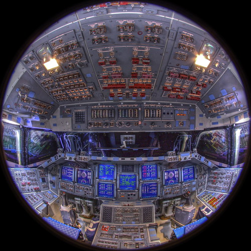 Space Shuttle Endeavour 360° VR Panorama | by jurvetson