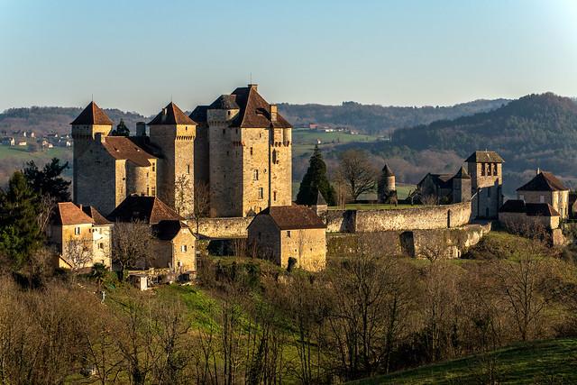 Châteaux de Plas et de Saint Hilaire