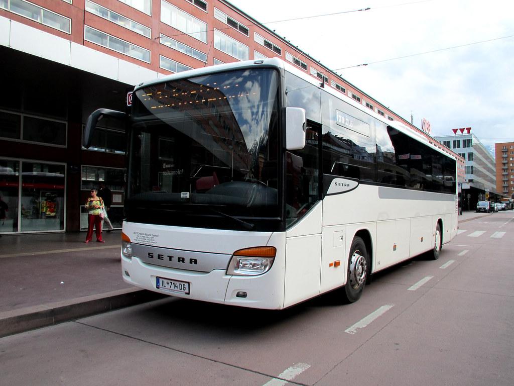 Inn Bus 714 Innsbruck Hbf Ivb Inn Bus Route St To