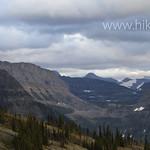 Granite Park Chalet looking towards Logan Pass