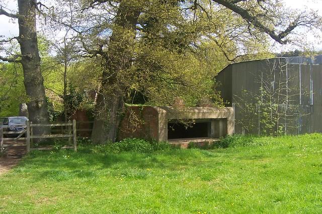 Large Pill Box near Waverely Abbey