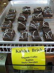 Kahlua Brick fudge at Kauai Chocolate Company
