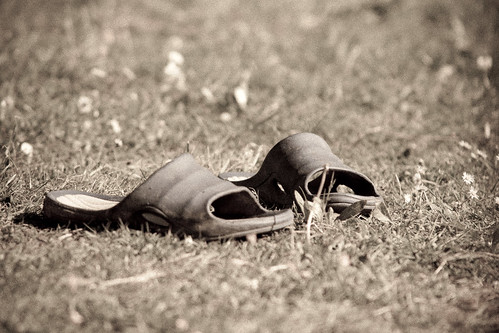 Sandals in the sunshine   by DaveFrost