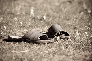 Sandals in the sunshine | by DaveFrost