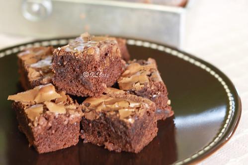 """Our favorite cake """"brown sugar brownies ala Mamah"""""""