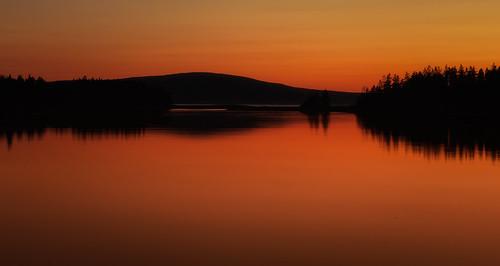 sunset sky reflection me maine cadillacmountain acadianationalpark schoodicpeninsula newegland