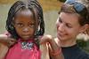 S dětmi v Kitutu, foto: Daniela Hranaiová, Člověk v tísni