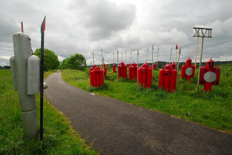 17th Legion at Kilmacolm by David Kemp Paisley and Clyde Coast Railway Path