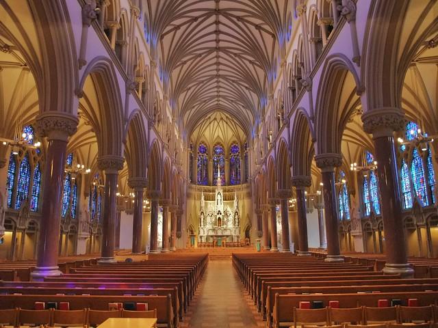 St. Francis Xavier Catholic Church, College Chapel, St. Louis University, St. Louis, MO