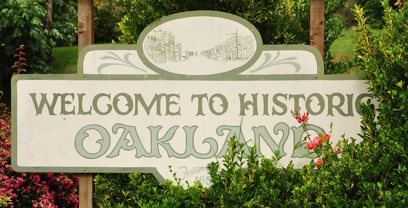 Welcome to Oakland