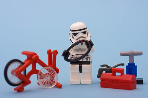 Stormtrooper Puncture Repair | by Sad Old Biker