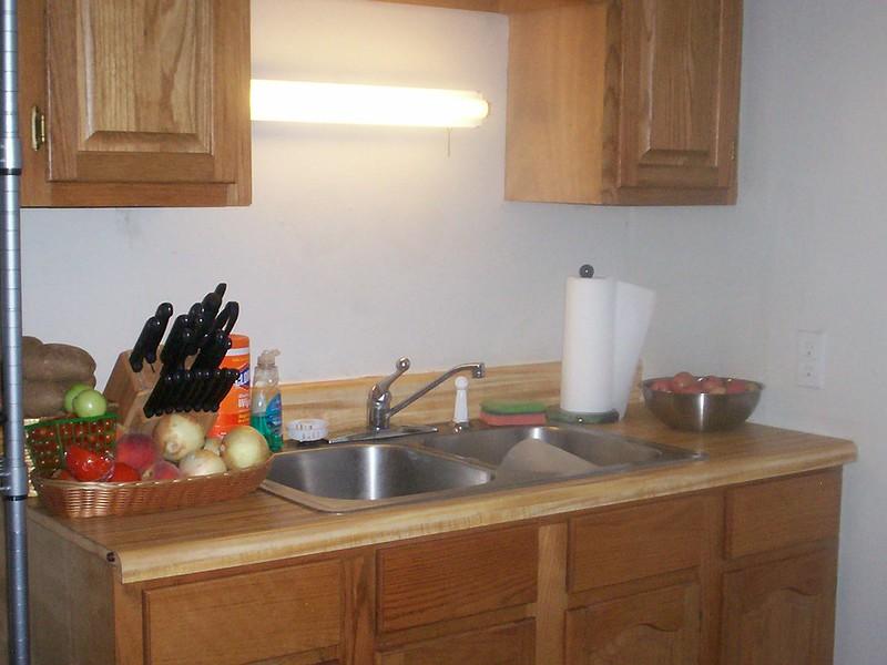 Small Kitchen Sink Area