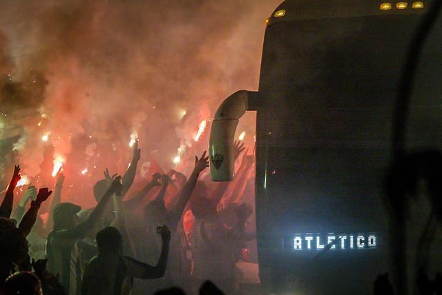 Atlético x Santos 26.07.2012