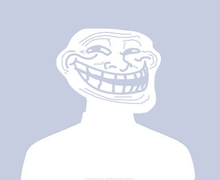 Facebook-troll-face | by WaaySheGoes