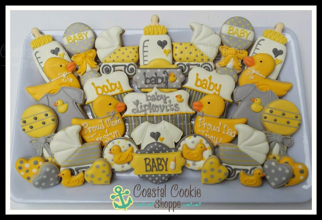 Lots Of Baby Showers Cookies Happening Around Here Lately Flickr