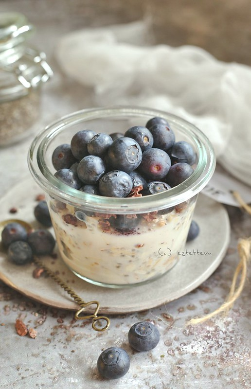 overnight oat-chia mix