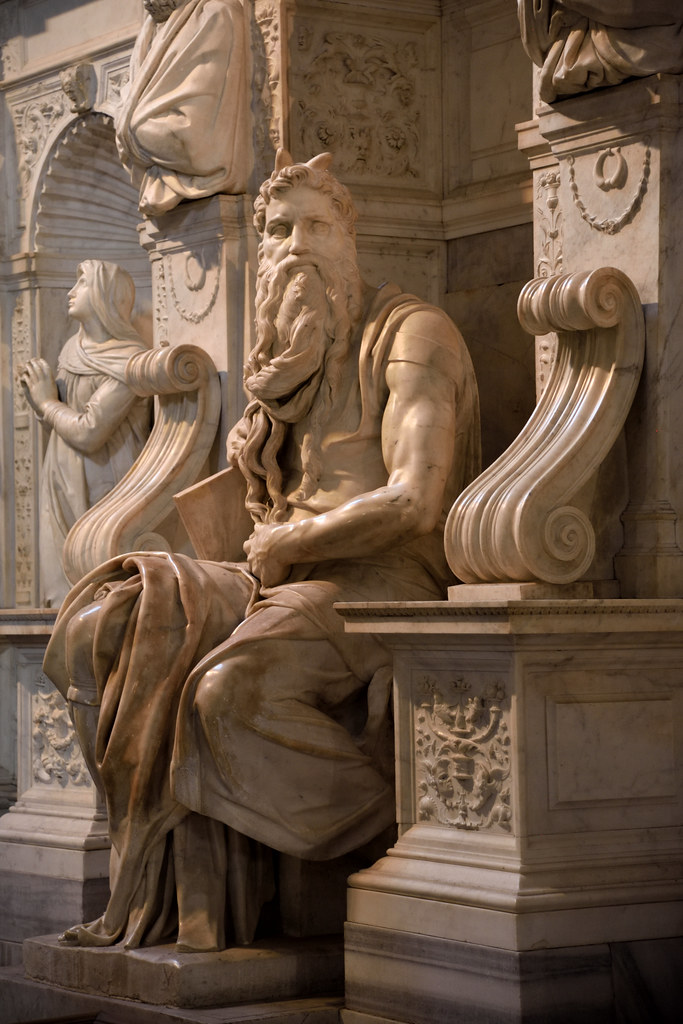 Michelangelo's Moses | The Moses by Michelangelo, housed in … | Flickr