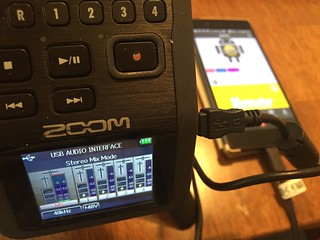 Using Zoom H6 as an audio interface to Android