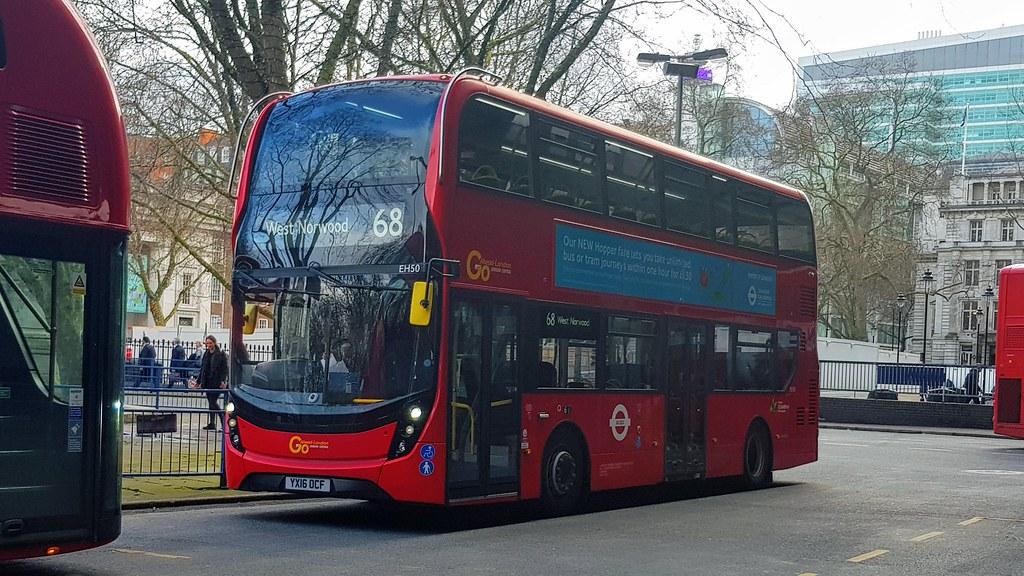 Go Ahead London EH50 - Route 68 | Go Ahead London E40H/Envir