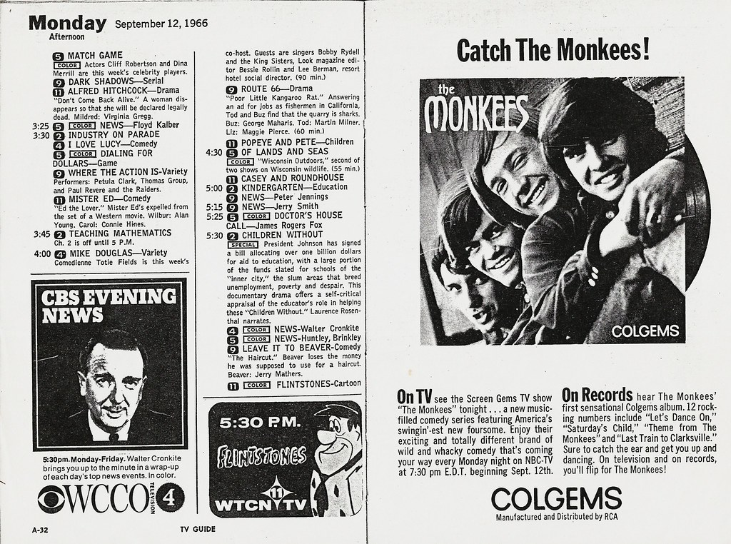 TV Guide 9-12-1966 | Pages from the Minneapolis-St. Paul edi… | Flickr