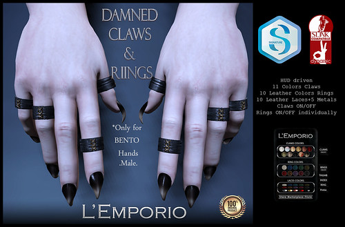 L'Emporio::*Damned Claws&Rings*::