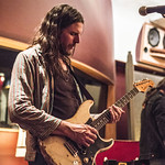 Tue, 06/03/2018 - 9:17pm - Producer, songwriter, guitarist Jonathan Wilson and his band perform for WFUV members at Electric Lady Studios in New York City. 3/6/18 Hosted by Rita Houston. Photo by Gus Philippas/WFUV
