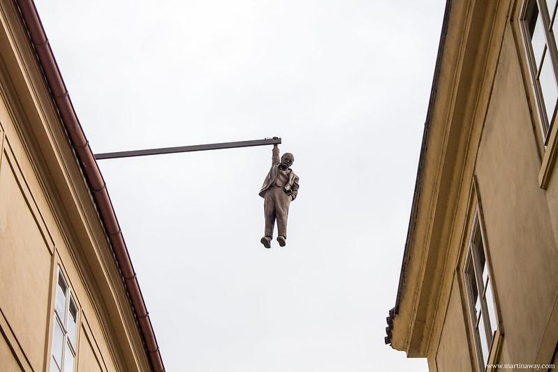 Statua di Freud in via Husova, curiosità su Praga