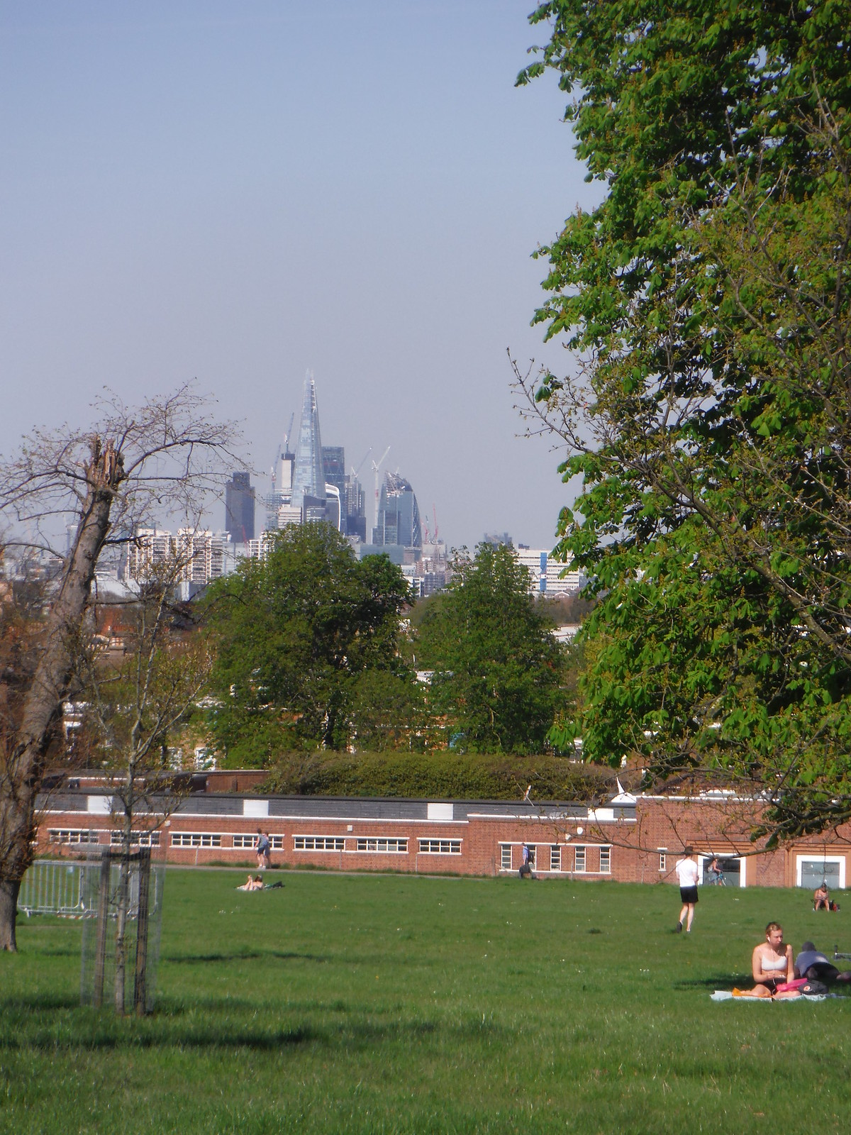 City of London from Brockwell Park SWC Short Walk 39 - Brockwell Park (Herne Hill Circular or to Brixton)