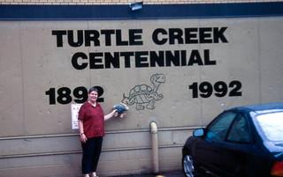 20000703 02 Jackie & Funf Schieldkrote, Turtle Creek, PA