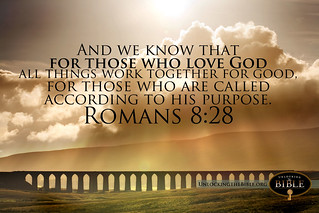 Romans 8:28 Computer Desktop Background Wallpaper   by UnlockingTheBible