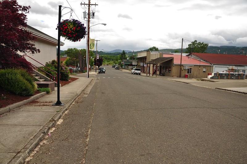 Yoncalla Main Street