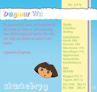 Dagmar Wit etiket | by Simon Fredslund