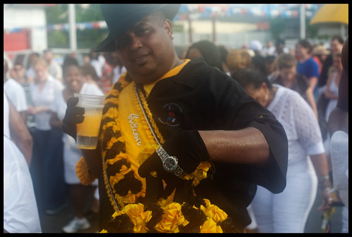 Action Jackson at Uncle Lionel Batiste's Memorial Second Line. by Ryan Hodgson-Rigsbee