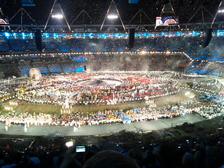 #london2012 #openingceremony enter Great Britain   by gorgeoux