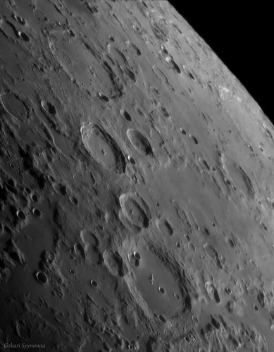 Moon, Cleomedes crater - Aug. 7, 2016 | by Oskari Syynimaa