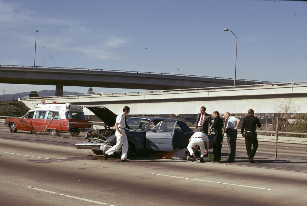 Traffic Accident East Bound 10 FWY at the I 405 January 19