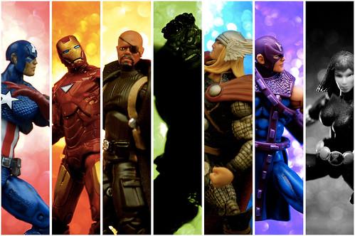 Universal Avengers   by JD Hancock