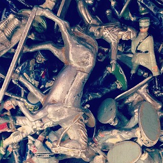 toy soldier carnage | by sarahwulfeck