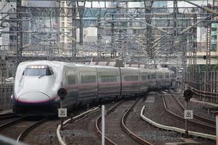 新幹線, 東京駅にて
