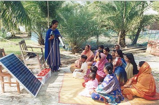 Village-based solar home system training session | by ILO in Asia and the Pacific