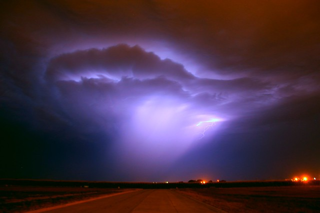 072912 - Late Night Nebraska Supercell
