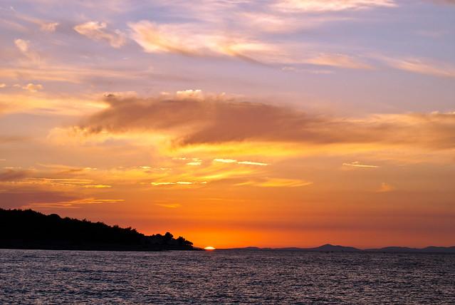 Postira Sunset