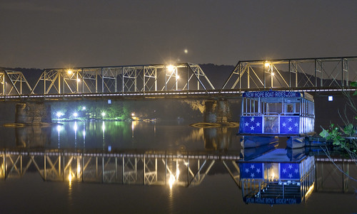 new bridge light summer reflection river painting season hope boat long exposure alone quiet nocturnal pennsylvania nj free visit tourist best pa crisp jersey getty lonely nocturne listen lambertville oot ood newhopepacom