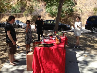 Soviet Picnic at Griffith Park/Old Zoo.