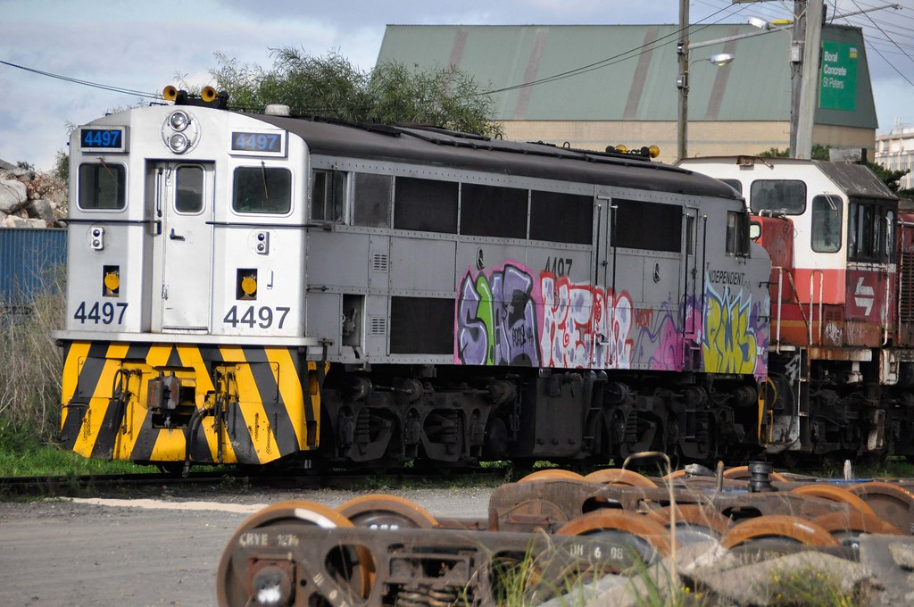 Former NSWR 4497 has received the treatment by John Cowper