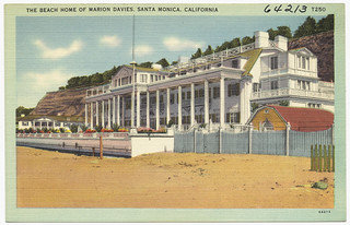 The Beach Home of Marion Davies, Santa Monica, California | by Boston Public Library