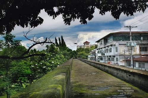 Intramuros, along the Wall, Manila, Philippines (7)
