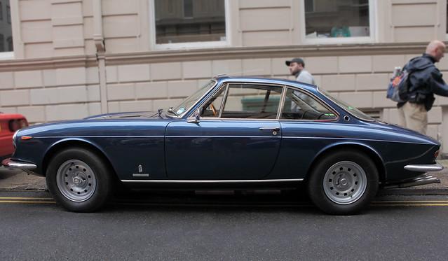Ferrari 365 GTC, Pininfarina, profile view, c1969