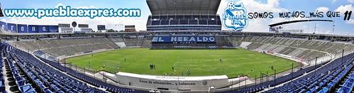P6080010 Estadio Cuauhtémoc casa del Puebla FC por Lyz Vega – Manuel Vela para Mv Fotografía Profesional / www.pueblaexpres.com