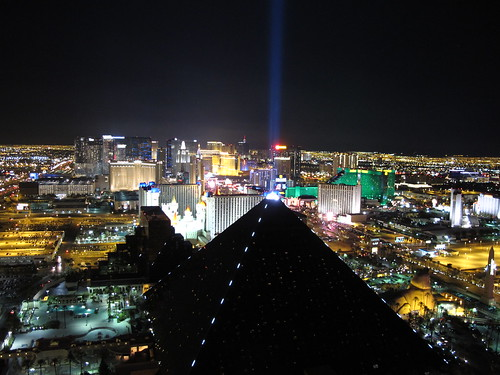 Las Vegas from the VIP view. | by BuzzFarmers